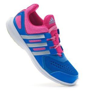 NIB Adidas Spark Blue & Pink Running Shoes
